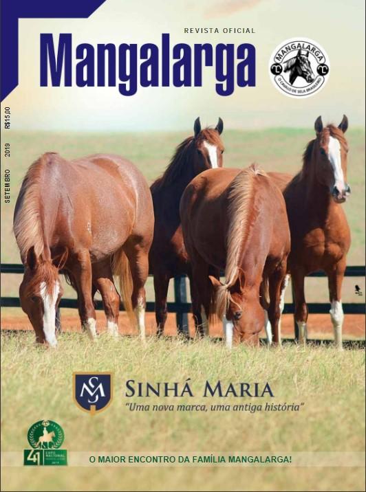 Revista Mangalarga nº 33 - Setembro/2019